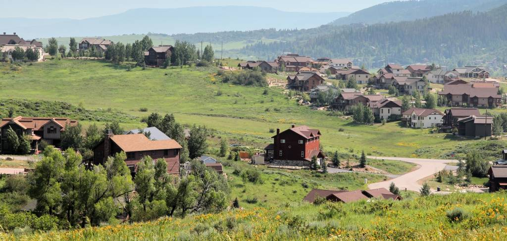 Steamboat Springs, town in Colorado
